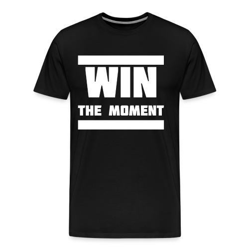 Win the moment Motiv/Weiß - Männer Premium T-Shirt