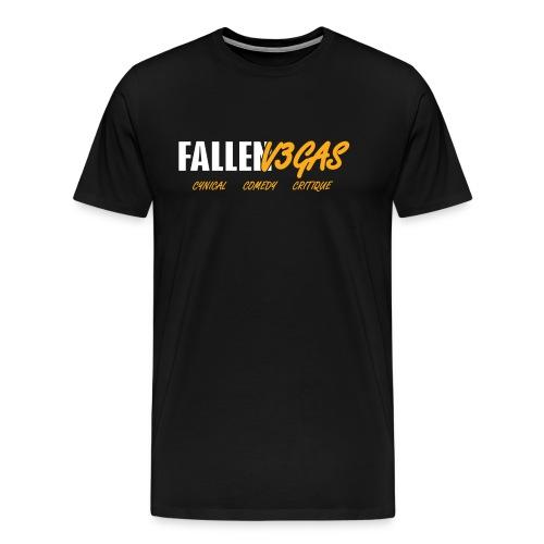 FALLENV3GAS | Motto - Men's Premium T-Shirt