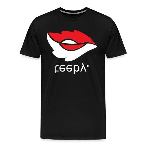 teeby. - Premium T-skjorte for menn