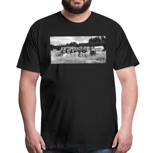 Oberthal 2015 Zeltlager Gruppenfoto - Männer Premium T-Shirt