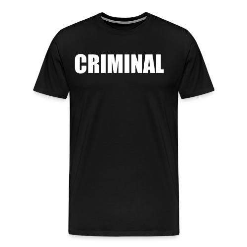 CRIMINAL - T-shirt Premium Homme