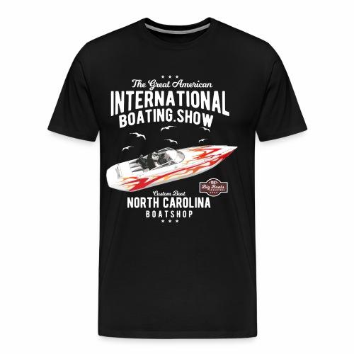Boating yacht - Männer Premium T-Shirt