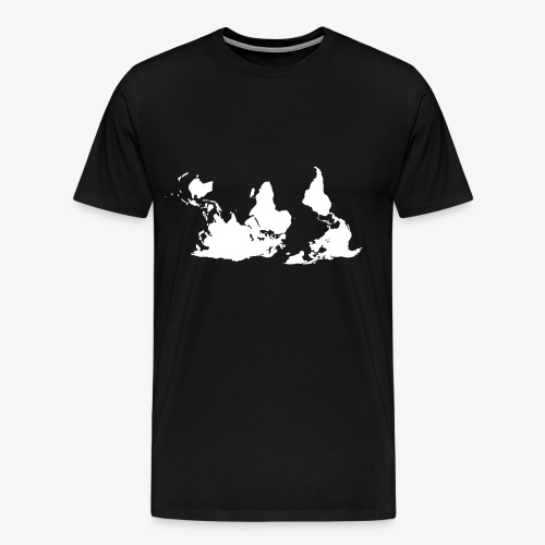 Stell' die Welt auf den Kopf! - Männer Premium T-Shirt