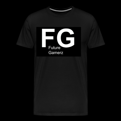 FG lofo boxed black boxed - Men's Premium T-Shirt