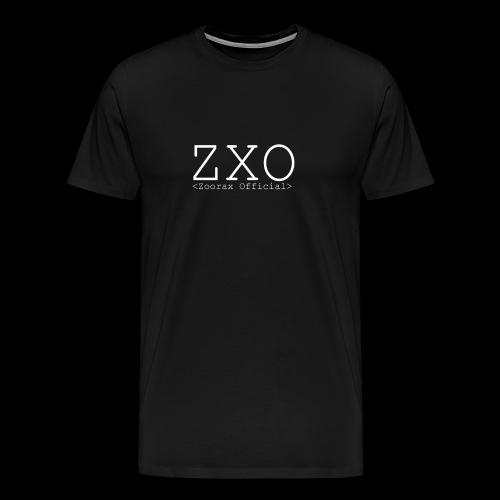 ZXO white - Men's Premium T-Shirt