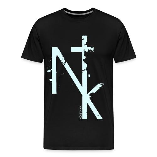 NTK logo white - Männer Premium T-Shirt