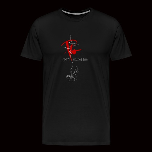 Plo - Gemeinsam einsam (Black Edition) - Männer Premium T-Shirt