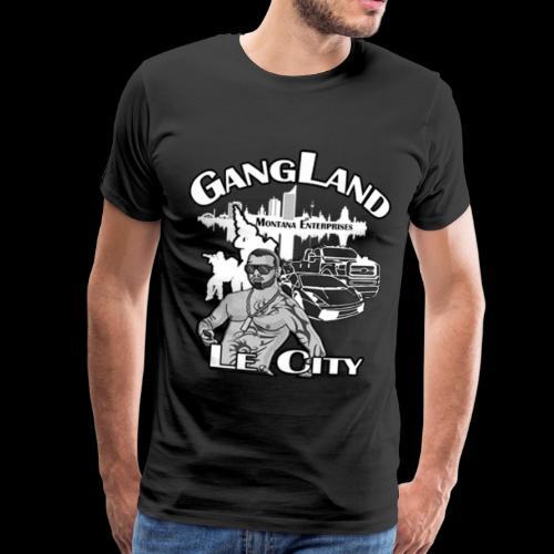 Gangland LE City - Männer Premium T-Shirt