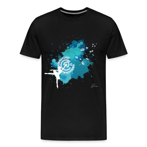 DANCER DANDELION - Maglietta Premium da uomo