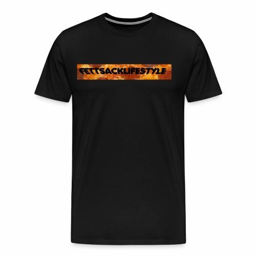 FETTSACKLIFESTYLE - Männer Premium T-Shirt