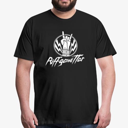 Riffgewitter - Hard Rock und Heavy Metal - Männer Premium T-Shirt