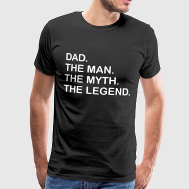 Best Dad. Gift for Dad. Best Dad Ever. Bestseller. - Men's Premium T-Shirt