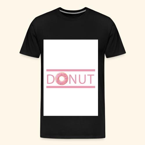 Donut-T-Shirt - Männer Premium T-Shirt