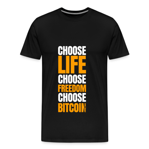 crypto bitcoin cryptocurrency cryptomonnaie - T-shirt Premium Homme