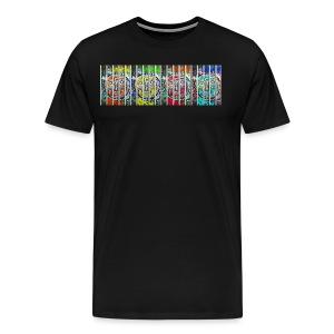 visage en prison 4FACES - T-shirt Premium Homme