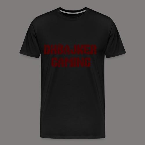 dhbajker gaming - Männer Premium T-Shirt