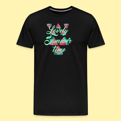 Wassermelonen Lovely Summertime - Männer Premium T-Shirt