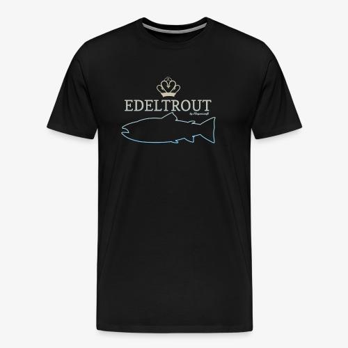 EDELTROUTGreyblue - Männer Premium T-Shirt