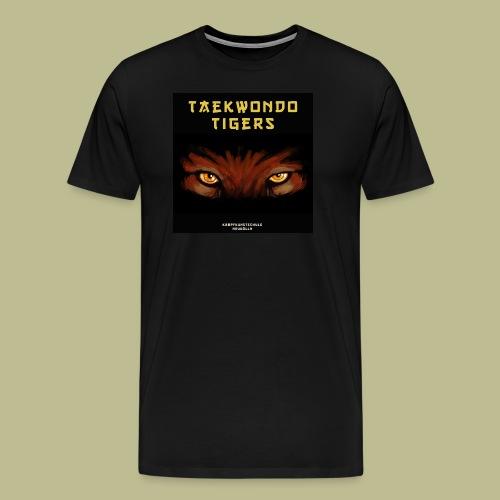 Taekwondo Tigers Logo - Männer Premium T-Shirt