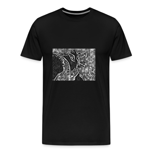 Dragon Ball Z - Oozaru Roar - T-shirt Premium Homme