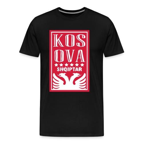 shqiptar design kosova - Männer Premium T-Shirt