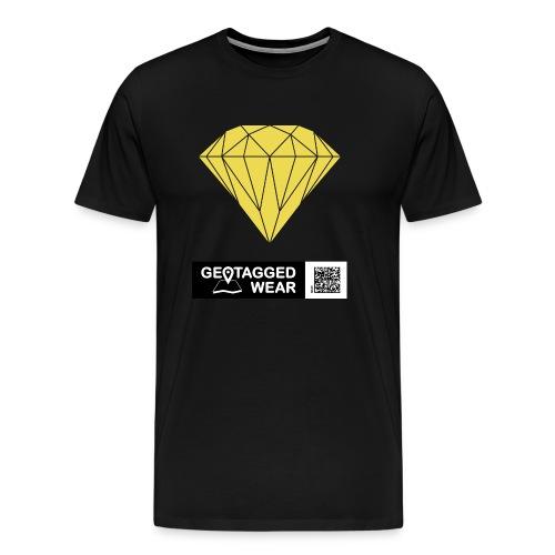 Unisex Diamond Pantone Meadowlark - Männer Premium T-Shirt