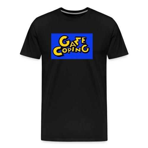 Original Game Coping Logo - Men's Premium T-Shirt