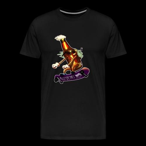Skatepunk beer - Maglietta Premium da uomo