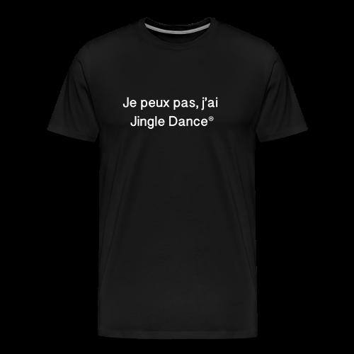 Je peux pas, j'ai Jingle Dance_BLACK - T-shirt Premium Homme