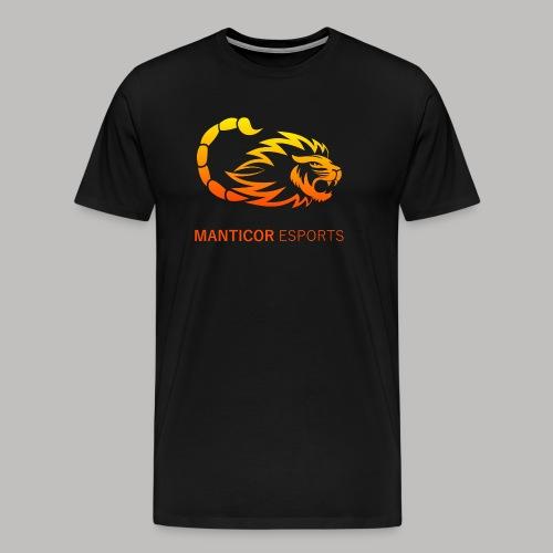 Manticor Textlogo - Männer Premium T-Shirt
