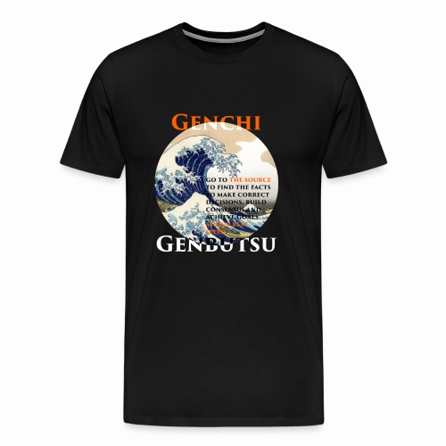 Genchi Genbutsu - Männer Premium T-Shirt