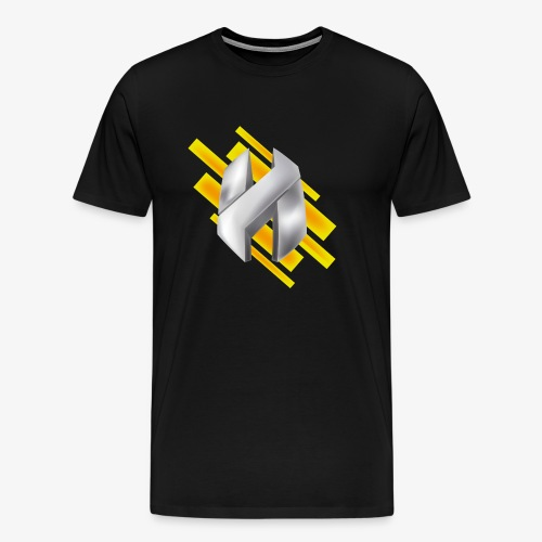 Abstract Yellow - Men's Premium T-Shirt