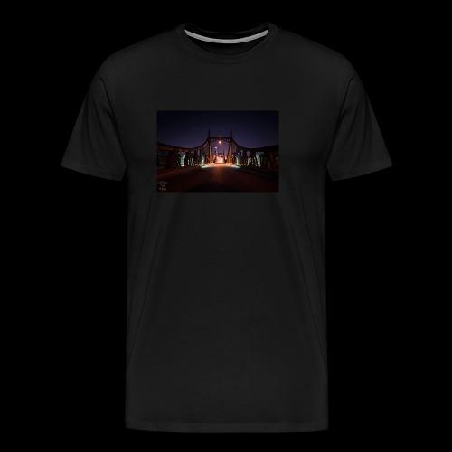 Brücke in Ulm - Männer Premium T-Shirt
