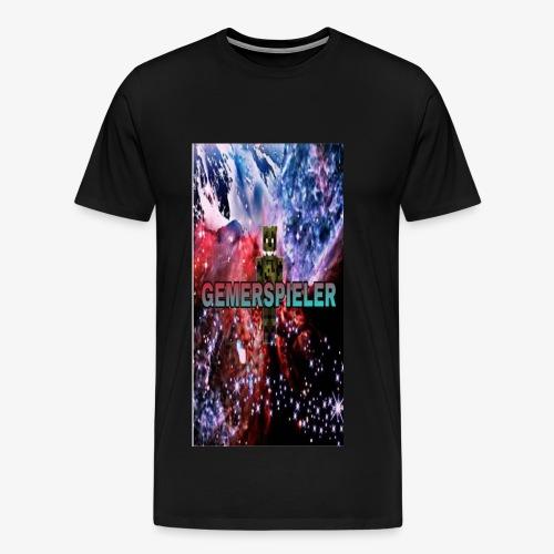 Gemerspieler Design - Männer Premium T-Shirt