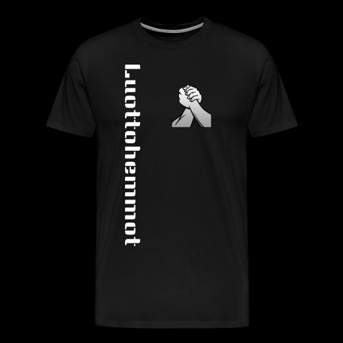 Luottohemmot 2.0 - Miesten premium t-paita
