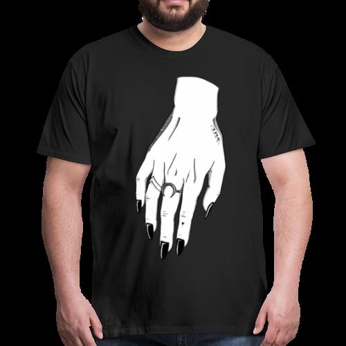 SAFE (female hand) - Camiseta premium hombre