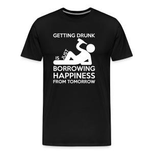 Getting Drunk - Men's Premium T-Shirt