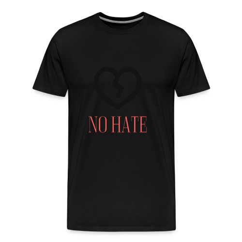 No Hate Logo - Men's Premium T-Shirt