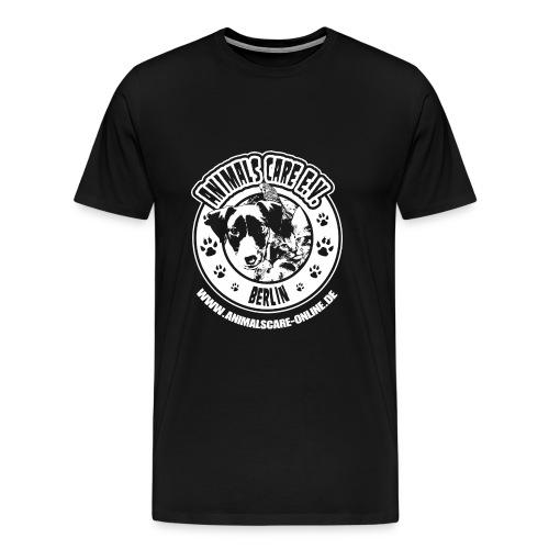 Animals Care Logo - Männer Premium T-Shirt