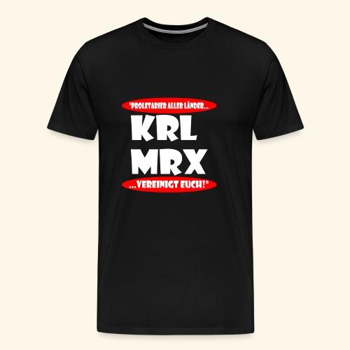Karl Marx - Männer Premium T-Shirt