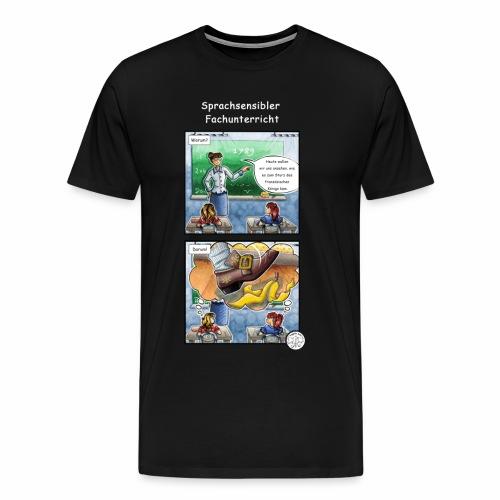 Sprachsensibler Fachunterricht - Männer Premium T-Shirt