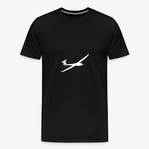Battement cardiaque planeur - T-shirt Premium Homme