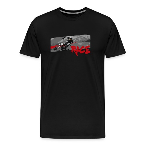 RACE LINE tee - Men's Premium T-Shirt