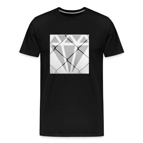 Wired Diamond - Männer Premium T-Shirt