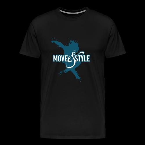 Move and Style Dance Academy - Männer Premium T-Shirt