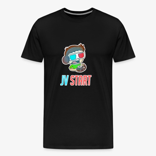 JVSTART Logo principal - T-shirt Premium Homme