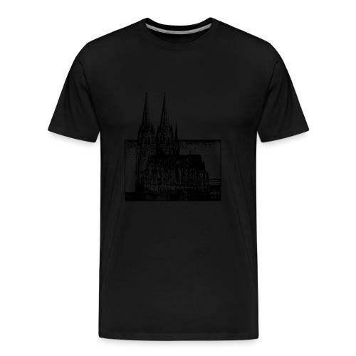 Domstadt - Männer Premium T-Shirt