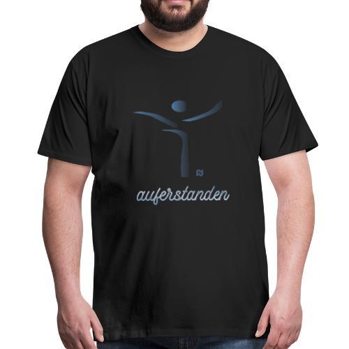 auferstanden - Jesus fragt Dich - Männer Premium T-Shirt