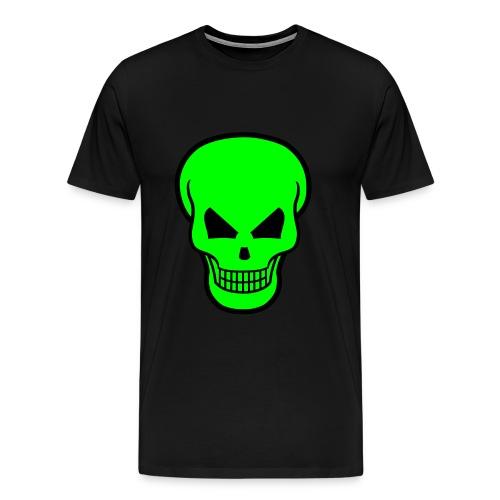 Skull green style - Maglietta Premium da uomo