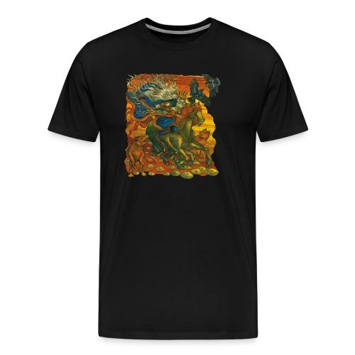 Oden - Premium-T-shirt herr